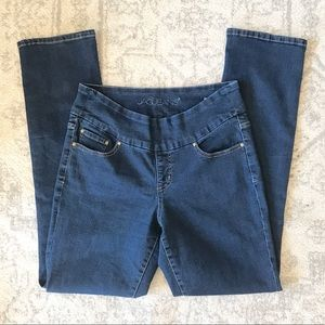 Jag High-Waisted Control-Top Straight Leg Jeans